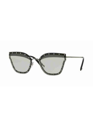 Valentino Valentino 2028 300587 59 Ekartman Kadın Güneş Gözlüğü Gri